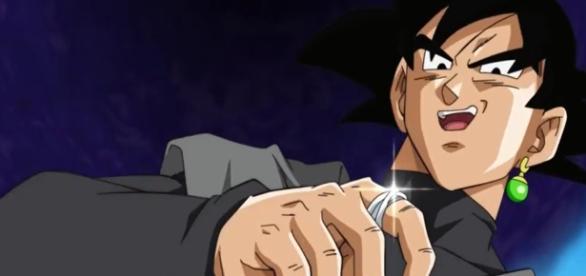 Black Goku llega a la epoca de super