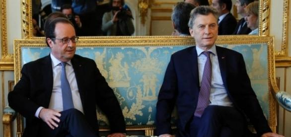 Presidente Mauricio Macri de gira por la UE