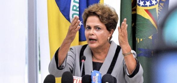Dilma Rousseff, presidente afastada