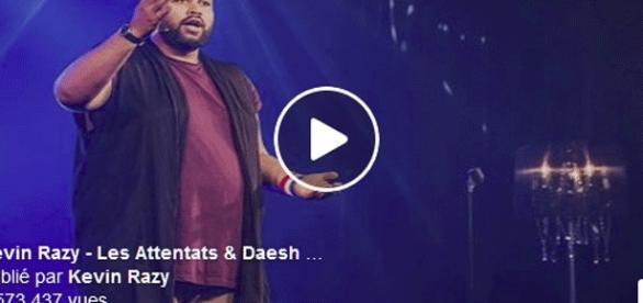 Kévin Razy frôle déjà les 4 millions de vues avec son sketch sur Daesh