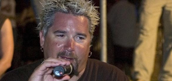 Guy Fieri helped the three Food Nwtwork Star finalists shoot their pilots. wikimedia