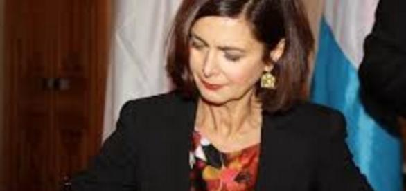 Laura Boldrini Presidente della camera dei deputati