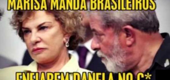 Marisa Letícia pede indenização depois que áudio foi divulgado