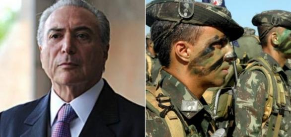 Michel Temer autoriza intervenção militar