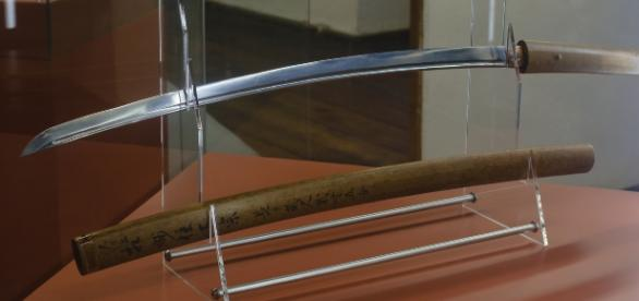 O sabie de samurai făurită de legendarul Masamune expusă la Muzeul din Stadt Steyr