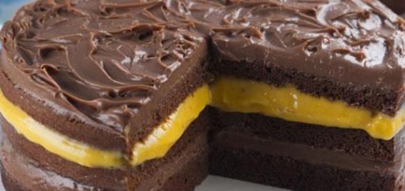 Receita é simples e incrível, trufado de maracujá e chocolate