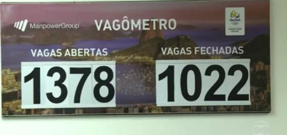 Ainda há 1.378 vagas abertas para a Rio 2016