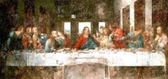 Leonardo Da Vinci's 'Last Supper' in decay Creative Image