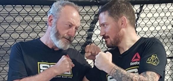 Liam Cunningham está sendo treinado pelo técnico do UFC, John Kavanagh (Foto: Reprodução/Twitter)