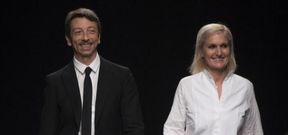 Pierpaolo Piccioli e Maria Grazia Chiuri ainda na Valentino; Fonte: Flickr