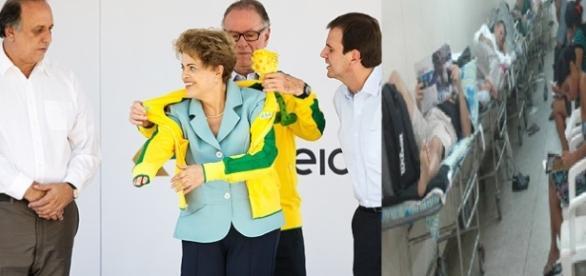 Preparação das Olimpíadas, ou melhor, 'Corrulimpíadas'