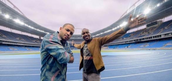 Projota y Thiaguinho fueron los artistas brasileños que grabaron el video de la canción oficial de los JJOO en Río de Janeiro