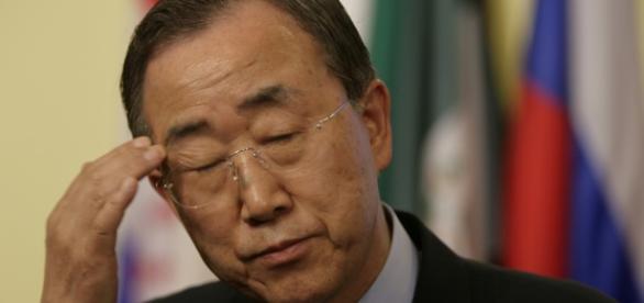 """""""Rejeitem qualquer tentativa de minar a união do país"""", pediu Ban Ki-moon"""