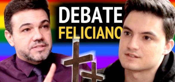 Debate Marco Feliciano VS Felipe Neto | Foto divulgação