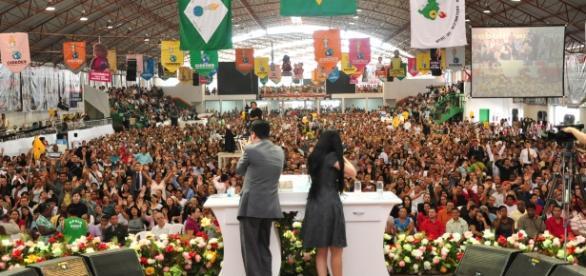 Evento do Gideões reúne milhares de pessoas em Santa Catarina