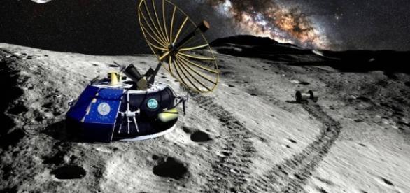 Infografía de la sonda sobre la Luna/MOON EXPRESS