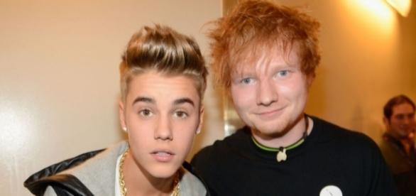 Justin Bieber anuncia nova música com Ed Sheeran