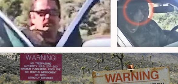La sicurezza sul confine dell'Area 51