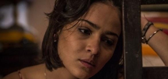 Olívia passará mal ao ouvir transa (Divulgação/Globo)