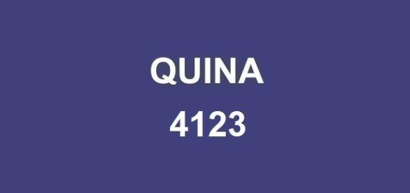 Resultado da Quina 4123 será divulgado nessa terça-feira