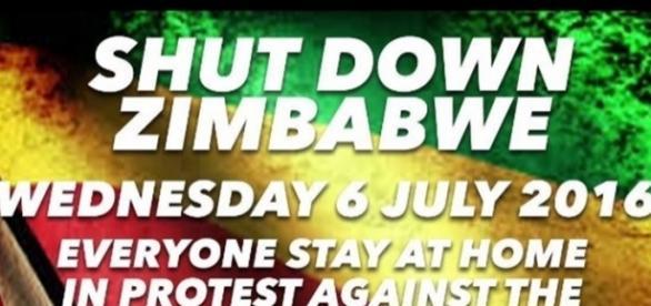 #ThisFlag / image via screencap #shutdownzimbabwe2016, via Twitter