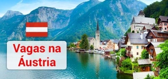Vagas na Áustria. Foto: Reprodução Go-today