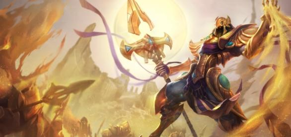 Azir, campeone de League of Legends