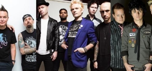 bandas pop punk más populares de los 90' y los 00'
