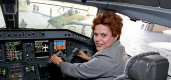 Dilma Rousseff pode ficar sem viajar pelo Brasil