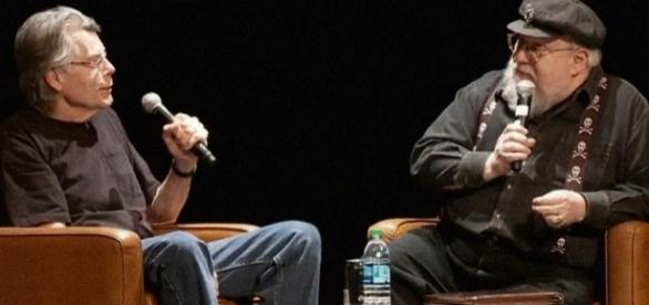 George R.R. Martin questiona Stephen King