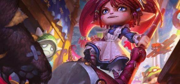 Poppy, campeona de League of Legends