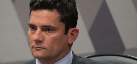 O juiz Sergio moro na operação Abismo