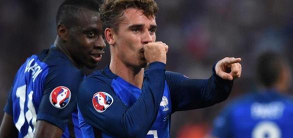 Griezmann ha sido el gran protagonista del partido entre Francia y Alemania