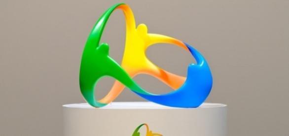 Logotipo da Olimpíada de 2016 que será realizada no RJ