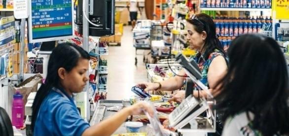 O Hiper mercado oferece muitas vagas para o Rio Grande do Sul