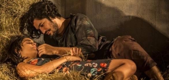 Olívia e Miguel podem não ter o mesmo pai (Divulgação/Globo)