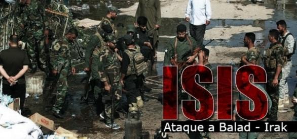 Ataque terrorista de ISIS en Balad - Getty Images - By Roberson