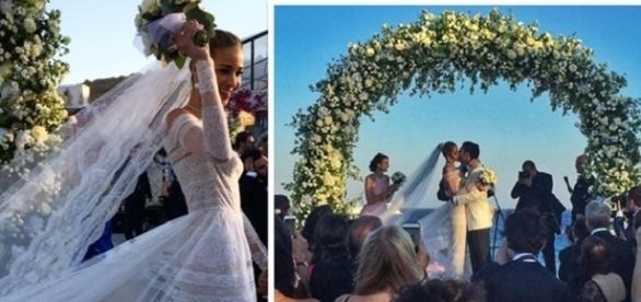 Casamento de Ana Beatriz Barros.