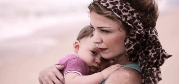 Bianca e seu filho quando ele ainda era bebê (Foto: Divulgação/Bianca Toledo)