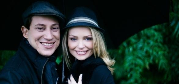 Bianca Toledo e o ex-marido (Foto: Anna Theodora Photography)