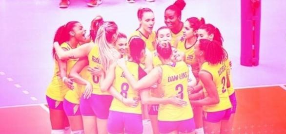 Brasil venceu a Holanda com tranquilidade