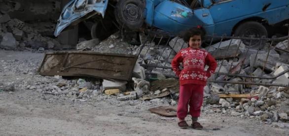 Os filhos da guerra civil síria
