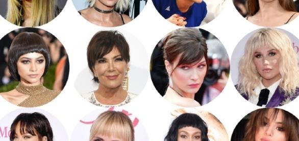 Flecos y flequillos, la nueva tendencia de peinado favorita de las ... - nuevamujer.com