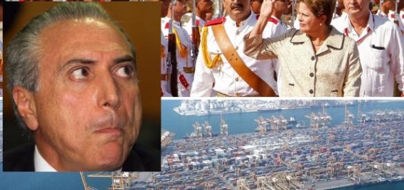Michel Temer vai investigar porto em Cuba