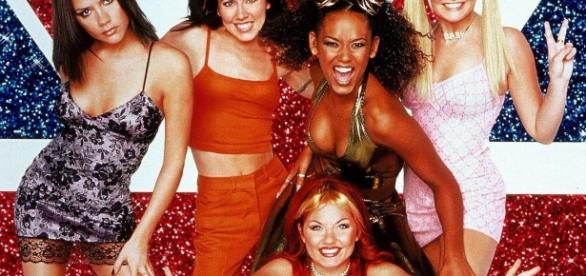 O quinteto original das Spice Girls