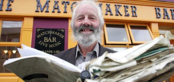 Willie Daly e seu centenário livro mágico