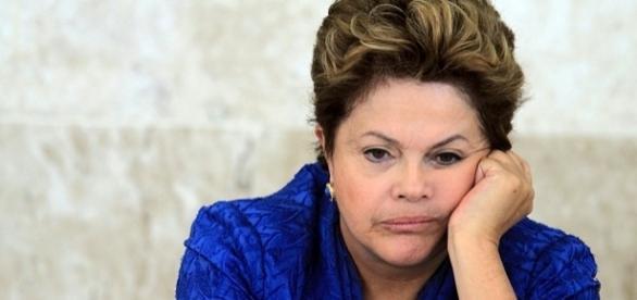 Dilma Rousseff teria perdido apoio após entrevista