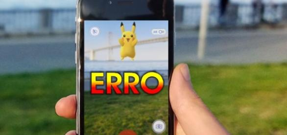 Problema no 'Pokémon Go' irrita os usuários