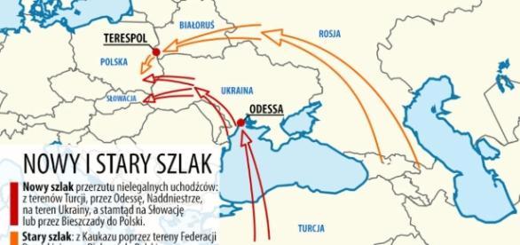 Szturm na wschodnie granice. Nowy szlak dla terrorystów? (fot. tvn24.pl)