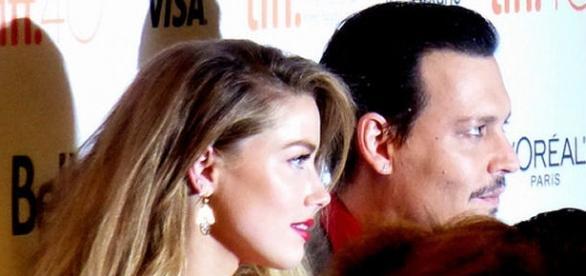 Amber Heard und Johnny Depp auf dem Toronto Film Festival 2015